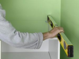 checking kitchen unit level