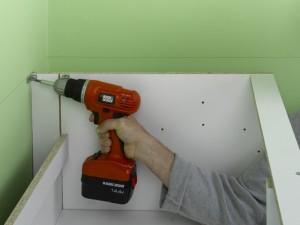 Fitting Kitchen Wall Units To Stud Wall