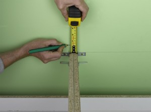 measuring for kitchen wall units
