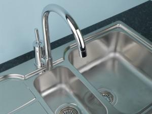 fitting new kitchen tap