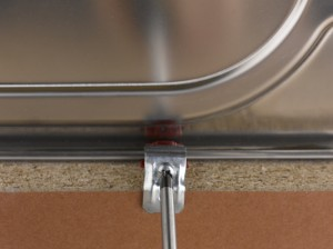 removing old kitchen worktop