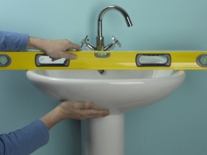 levelling new basin