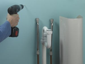 Fitting A Basin And Taps