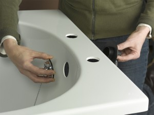 Fitting bath overflow assembly