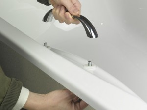 Fitting bath hand grips