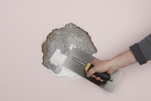 filling holes in plaster