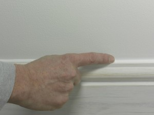 smoothing caulk