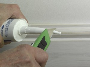 using caulk