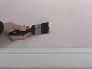 painting over damp stains