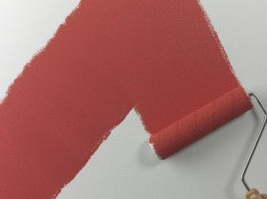 how to paint walls with roller