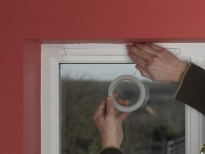fitting double glazing film