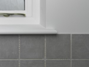 tiling external corners