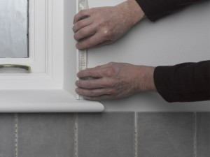 using tile trim
