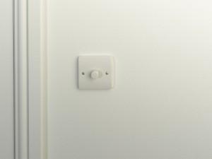 wallpaper light switch