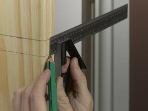 marking door edge