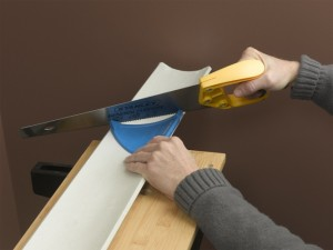 Fitting coving for Coving corner template