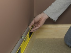 skirting board level