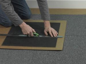 Laying Carpet Tiles
