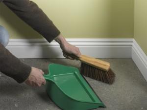 preparing floor