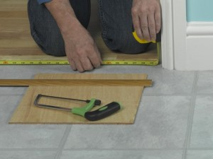 measuring door threshold