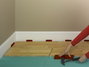 laminate floor knocking block