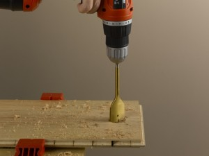 drilling hole for pipes