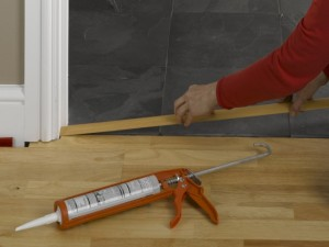 fitting threshold strip