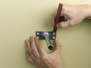 Positioning wall bracket