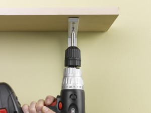 fixing shelf