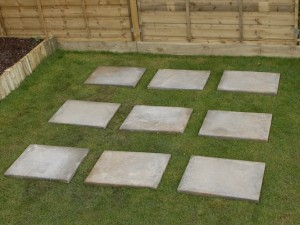 Dalama Useful How To Build A Shed Base With Paving Slabs