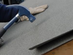 felting shed roof