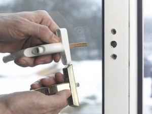 cutting locking bar of upvc window handle