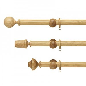 Oak Curtain Pole Curtain Design