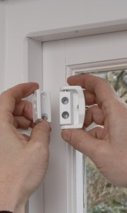 Fitting window locks for sash windows or casements