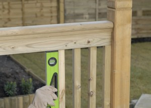fixing deck balusters or spindles