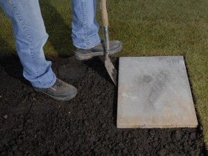 Marking slab edges for deck bearers