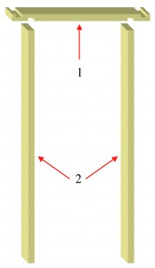 Door lining kit.