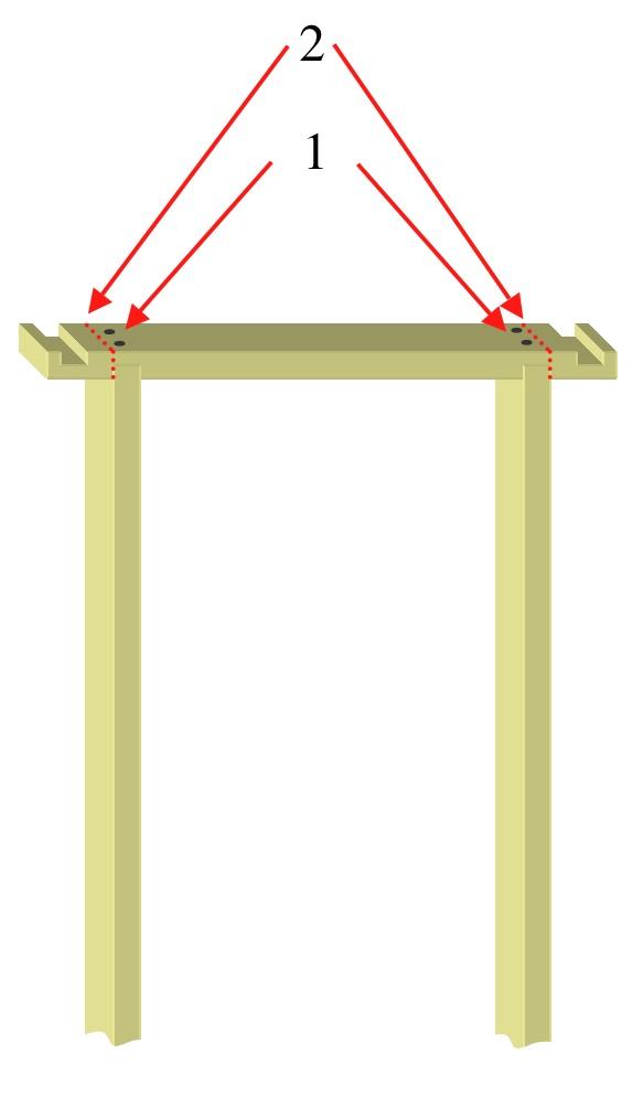 Screwing door lining together.  sc 1 st  Julian Cassellu0027s DIY Blog & Fitting a door lining