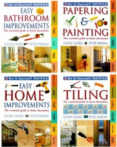 Painting, tiling and home improvement books