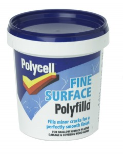 Fine surface filler