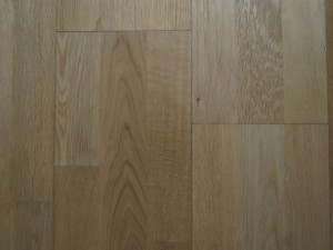 Three strip wood floor