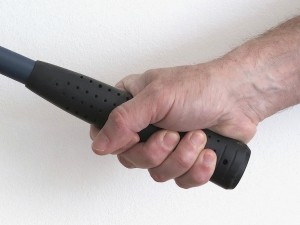 Gripping a hammer