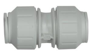 Plastic push-fit joint