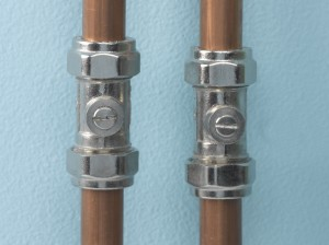 Plumbing isolation valves