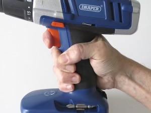 Cordless drill trigger