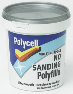 Polycell No Sanding Filler