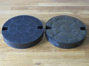 Cooker hood filters
