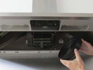 How to replace cooker hood filter