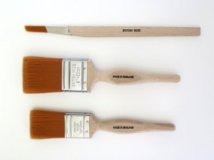 Fox paint brushes sizes