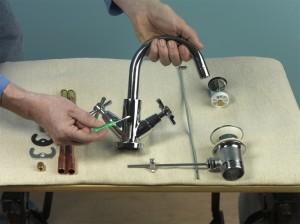 assembling a new tap